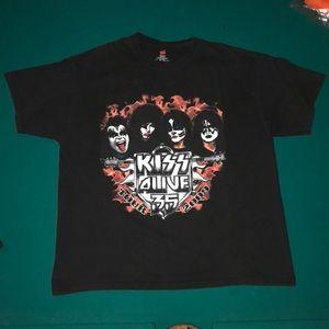 Kiss tour 2009 vintage tee